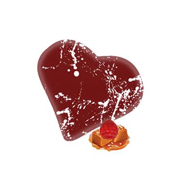 Pralina maliny-karmel