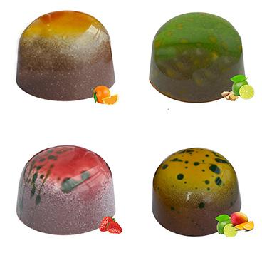 """Pralinki  """"Koktajl owocowo-jagodowy"""""""